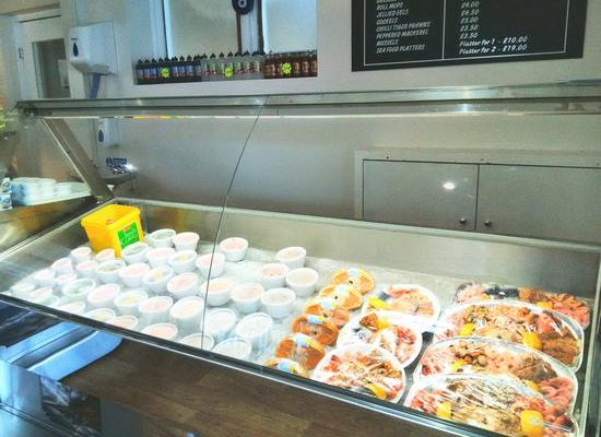 Mersea Island Fish Bar Seafood Restaurant Colchester Fresh Seafood