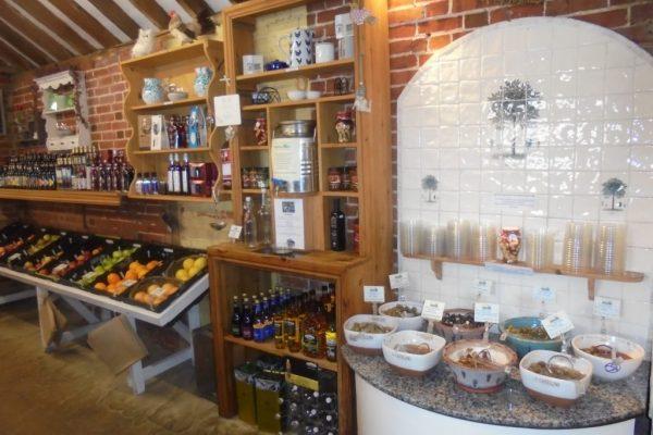 Hall Farm Shop Colchester Delicatessen Cafe Restaurant Colchester